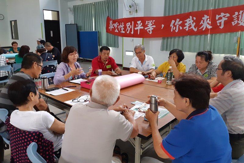 圖為新化區公所舉行住民大會,廣邀在地鄉親討論地方議題。 圖/新化區公所提供