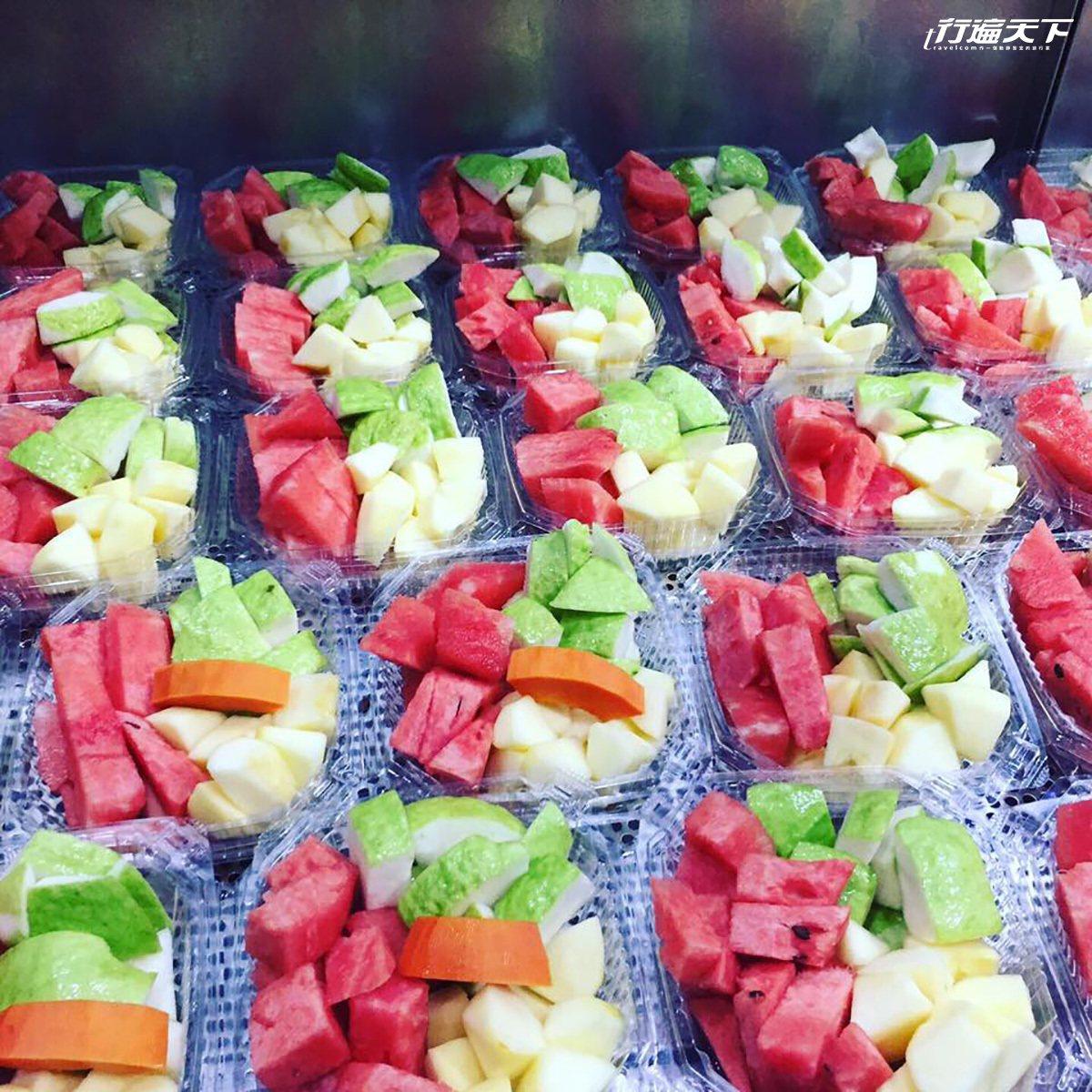 許多公司行號會特別預定新鮮現切的水果餐盒。(圖片提供│元氣果汁)