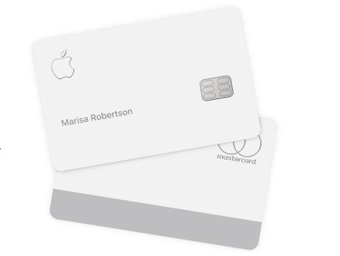 蘋果公司新推出的信用卡Apple Card,實體卡需要細心呵護照料,最好不要放入真皮皮夾和牛仔褲口袋。取自蘋果官網