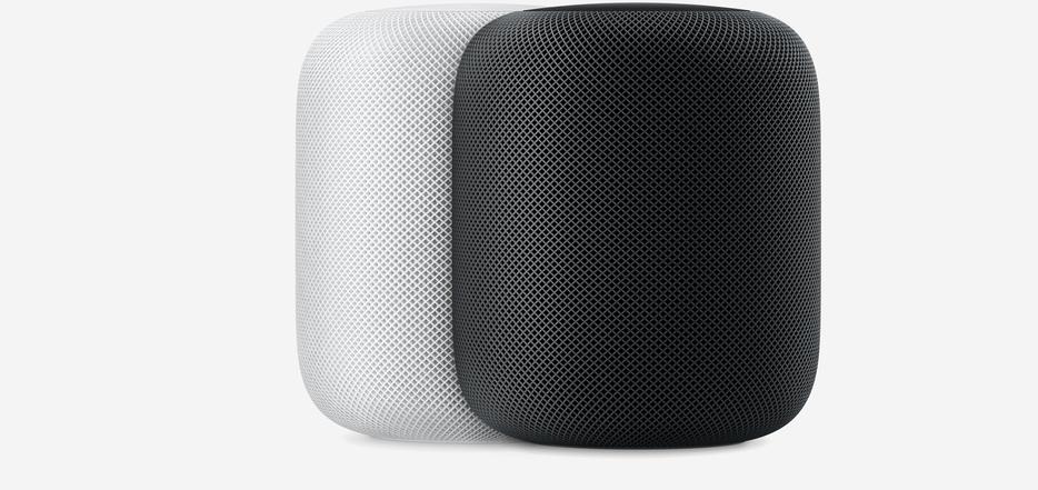 蘋果智慧音箱HomePod。 圖/蘋果官網