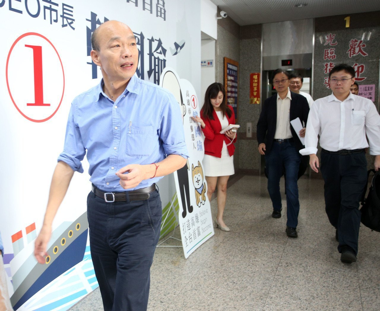 國民黨總統參選人韓國瑜。聯合報系記者劉學聖/攝影