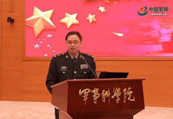 大陸軍事科學院戰爭研究院院長、解放軍少將陳榮弟。圖:中國軍網