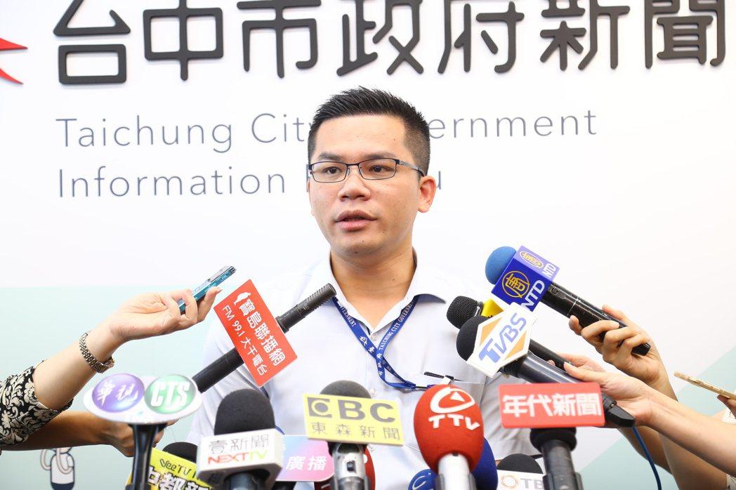 台中市長盧秀燕大幅度調整6名首長人事,新聞局長吳皇昇說,人事調整是確定的,但確定...