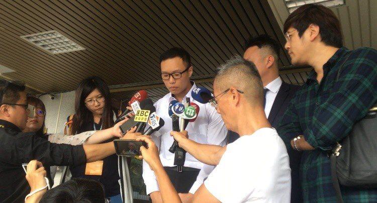 游瀚甯今再次向社會大眾道歉。記者蔡翼謙/攝影