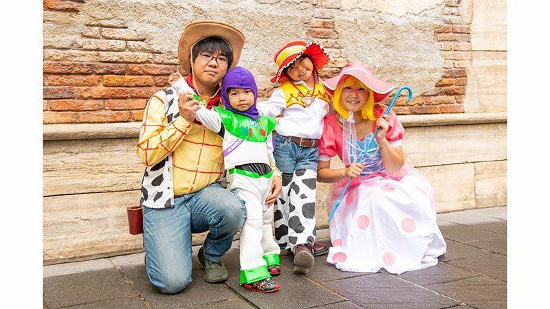 東京迪士尼樂園、東京迪士尼海洋僅有萬聖節期間,可開放成人變裝入園,機會難得。圖/...