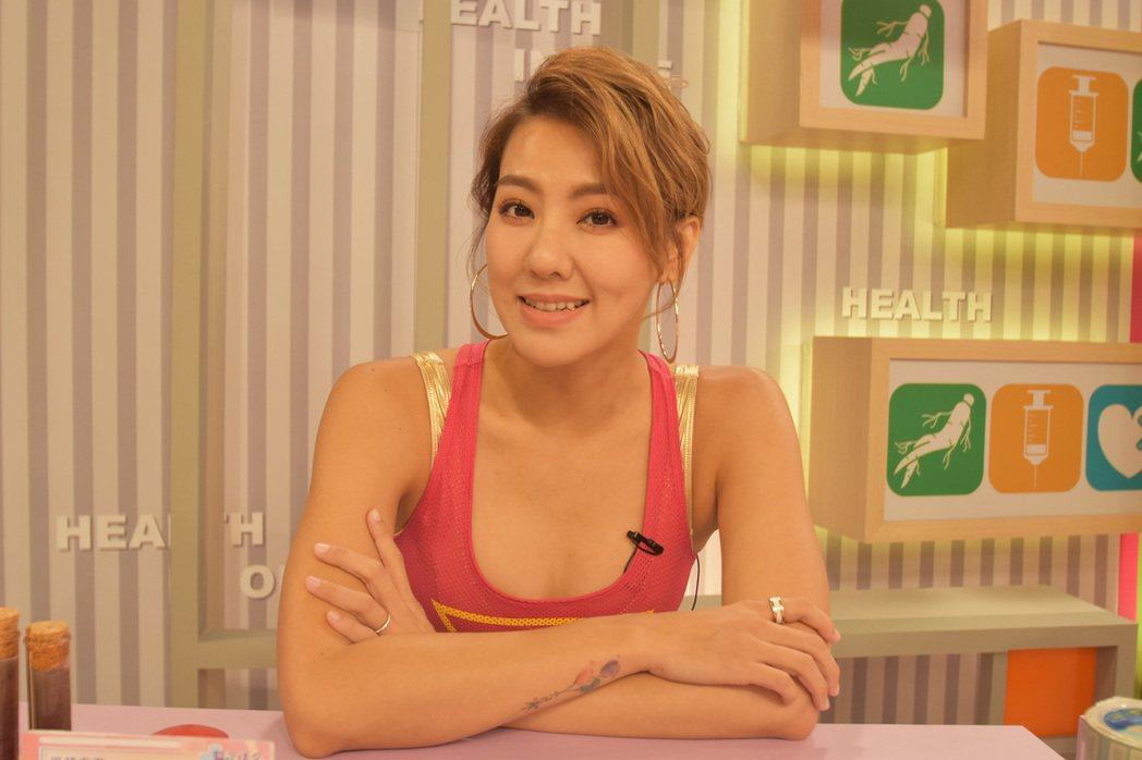 劉雨柔曾經因為長出腫包送醫。圖/緯來提供