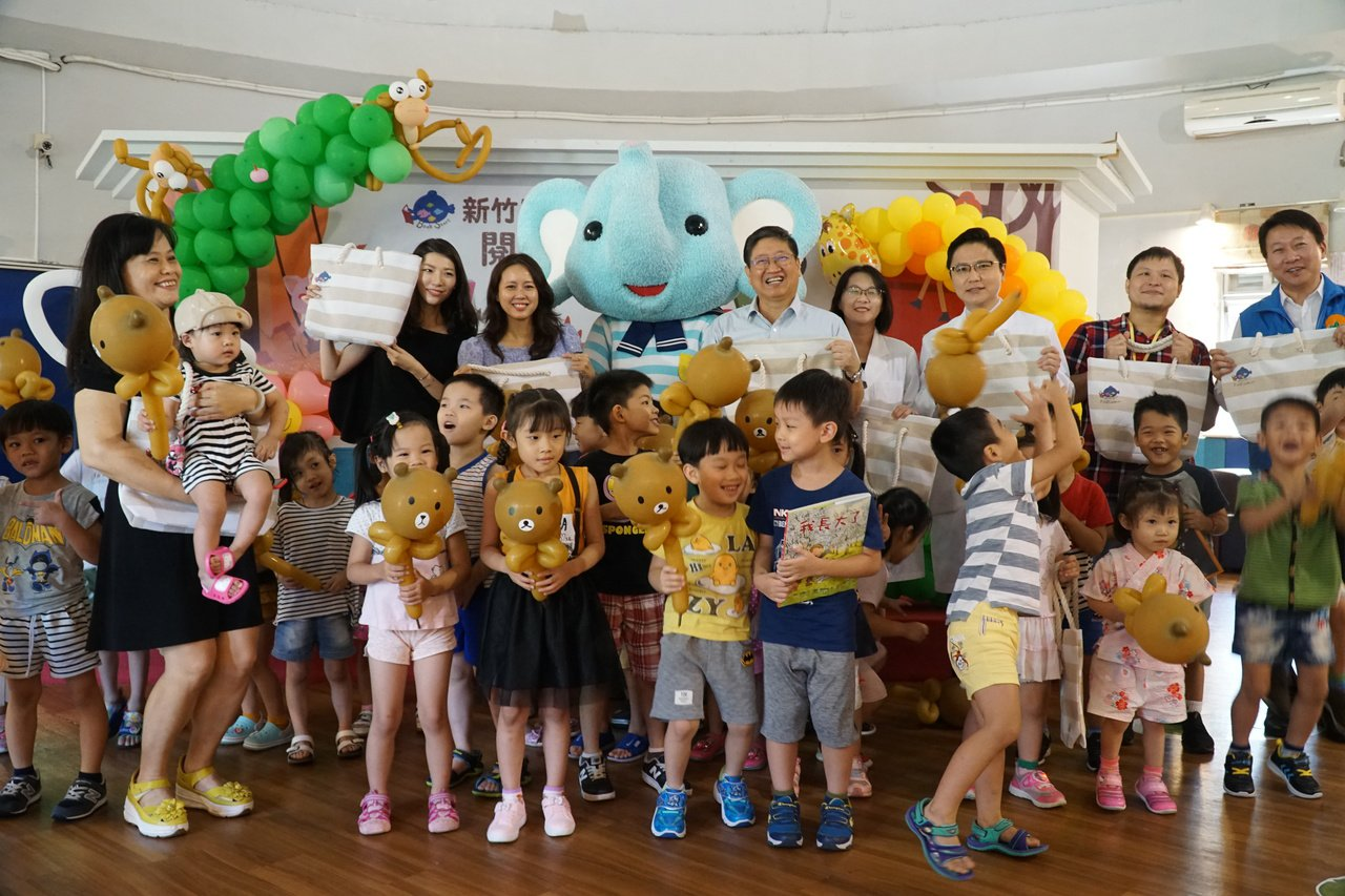 竹縣嬰幼兒閱讀 25日起兒童劇、親子講座輪番登場