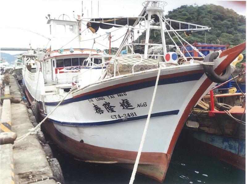 蘇澳籍「進隆泰6號」漁船,8月18日16時於太平洋公海失聯,至今下落不明。圖/漁...
