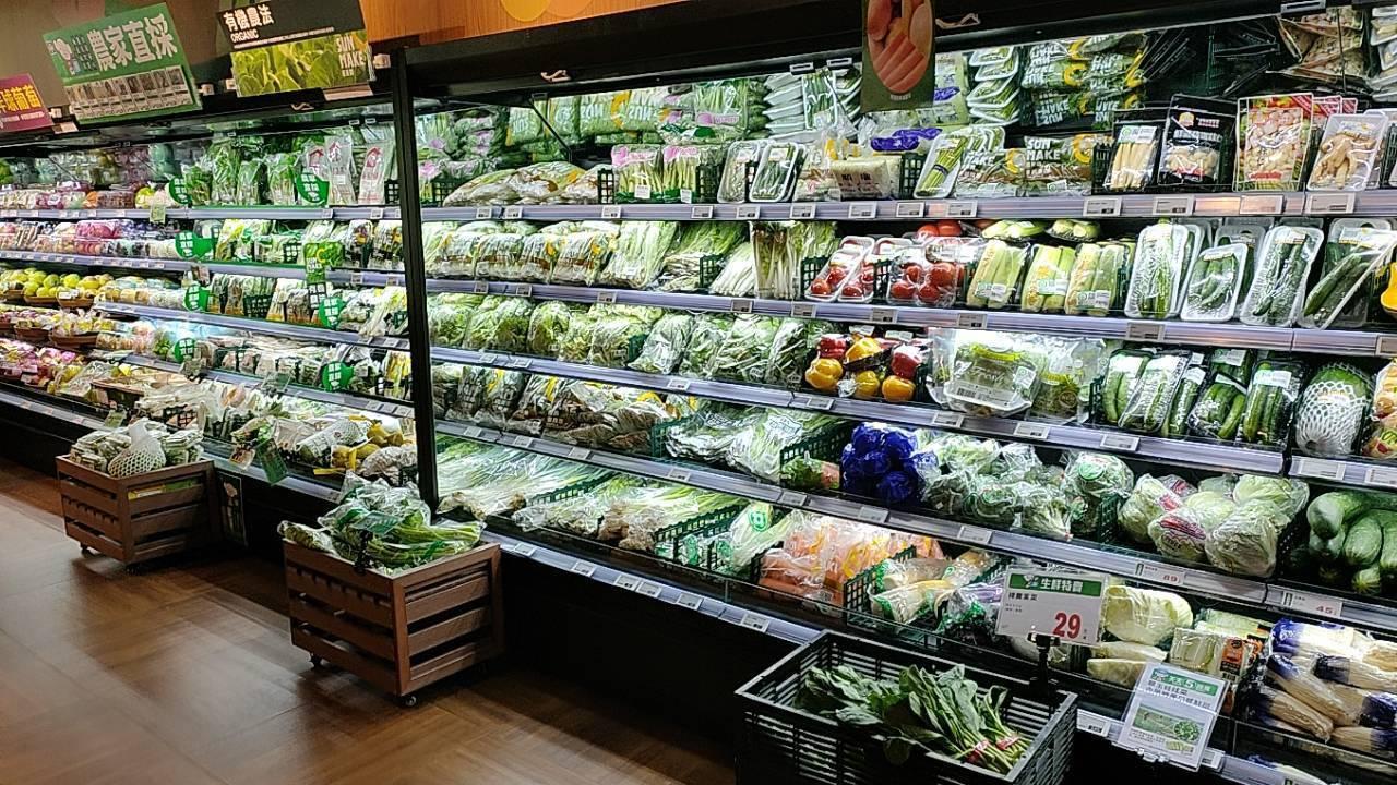 因應風災來襲,全聯備足菜量供民眾選購。圖/全聯提供