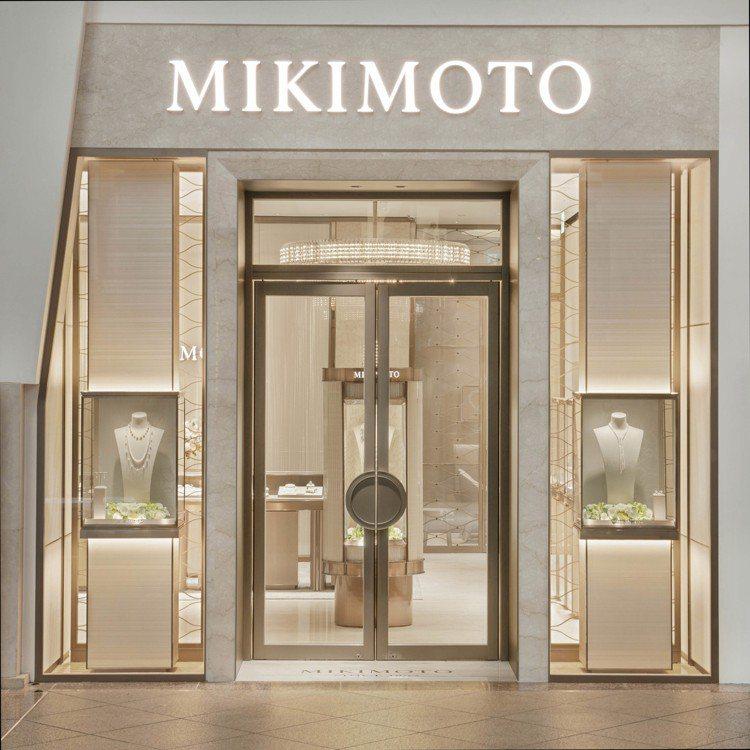 MIKIMOTO於台北101開設首家頂級珠寶旗艦店。圖/MIKIMOTO提供