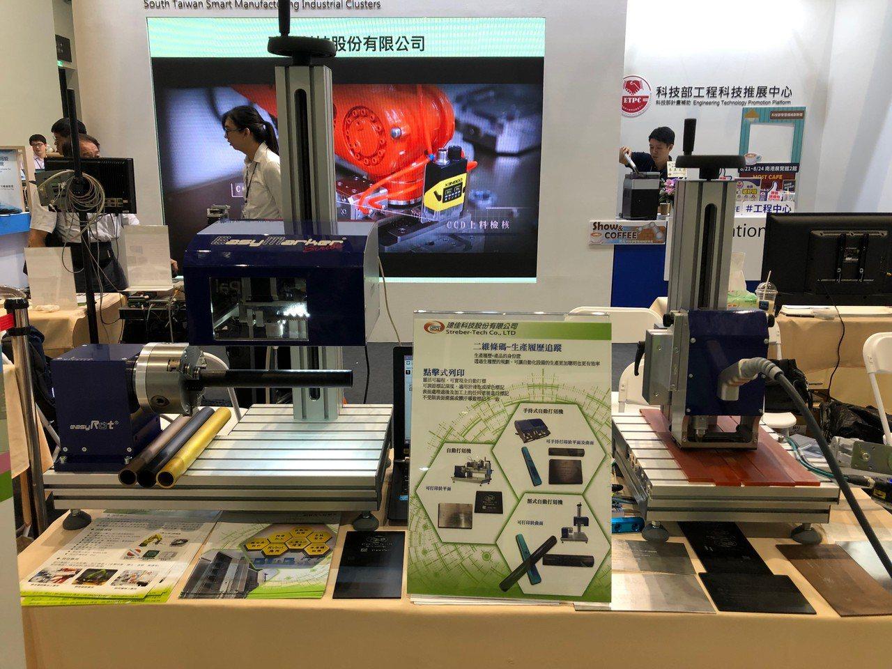 台灣機器人與智慧自動化展,建佳展示公司研發的智能工廠解決方案,展現自動化設備發展...