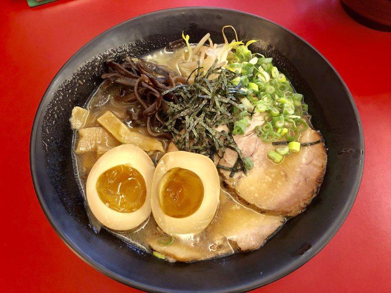 日式料理深受台灣人喜愛,拉麵更是常見的美食之一。記者宋健生/攝影