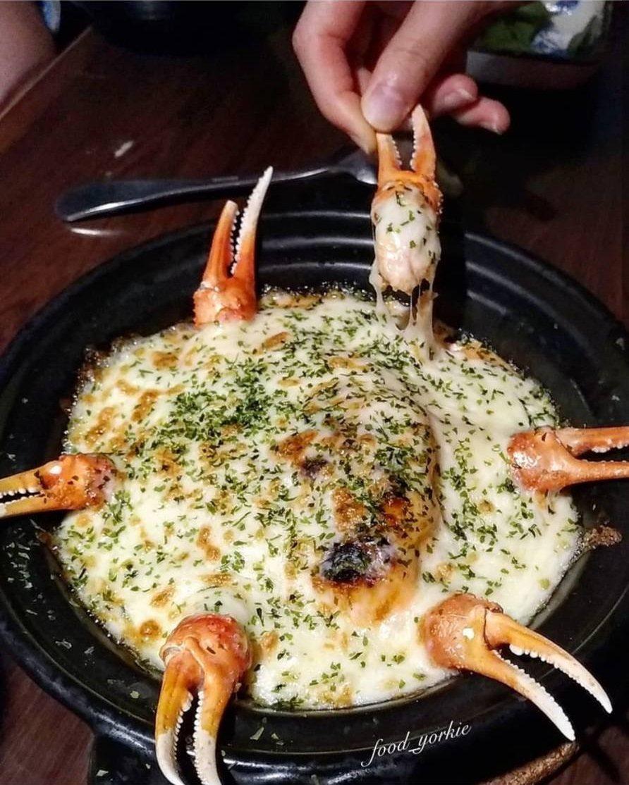 明太子海鮮歐姆蛋起司燒也是必點菜色。IG @food_yorkie提供 ※...