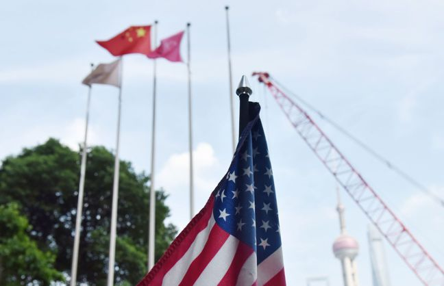 美中貿易戰短期看不出停火的跡象。法新社