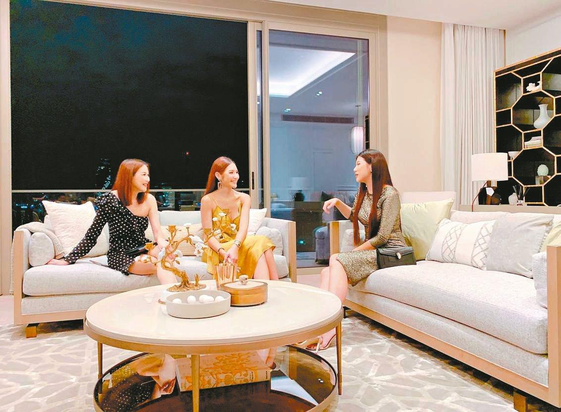新興酒店式公寓豪宅,成為泰國頂級客群最愛。 特派記者徐力剛/攝影