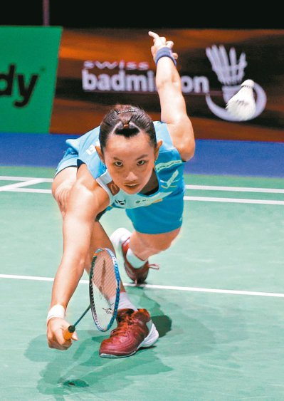 戴資穎在世界羽球錦標賽女單八強賽落敗,無法締造個人最佳成績。 (路透)