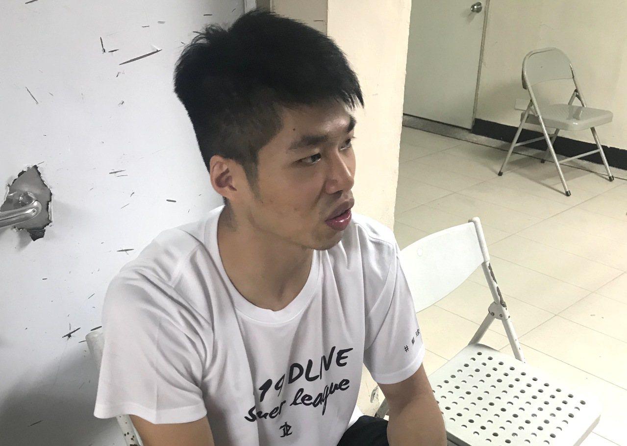劉人豪希望能獲球隊推薦參加SBL選秀。 圖/聯合報系資料照片