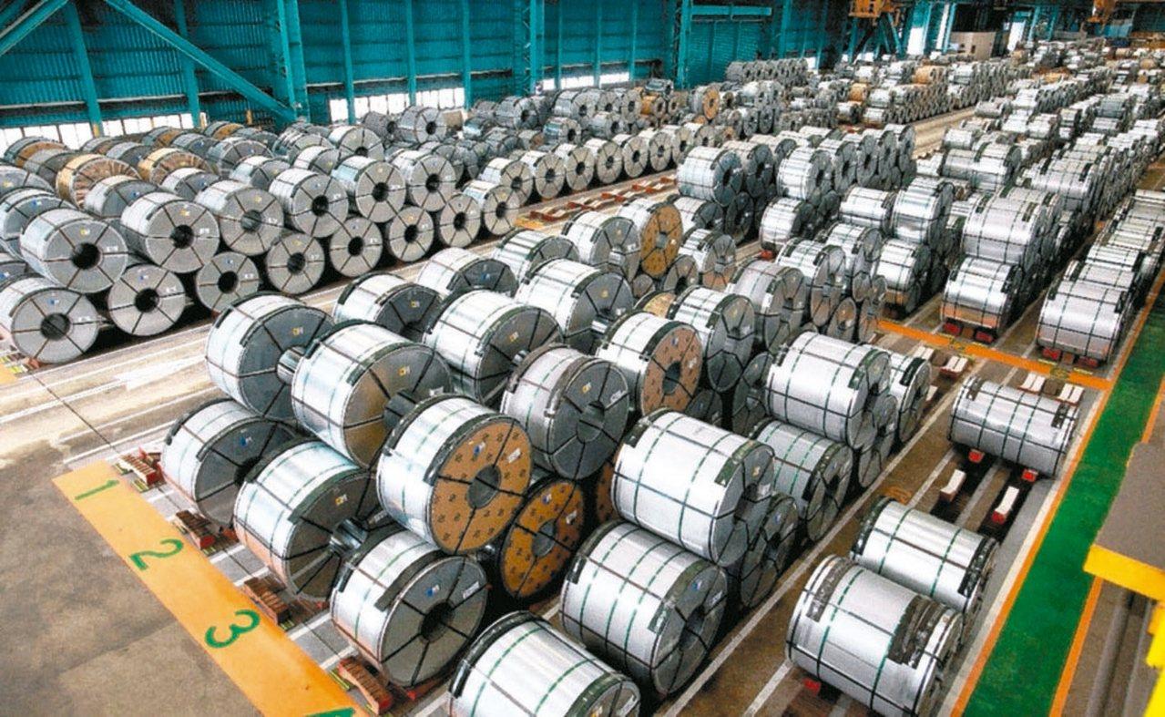 中鋼Q4盤價主力鋼種全面平盤。 本報系資料庫