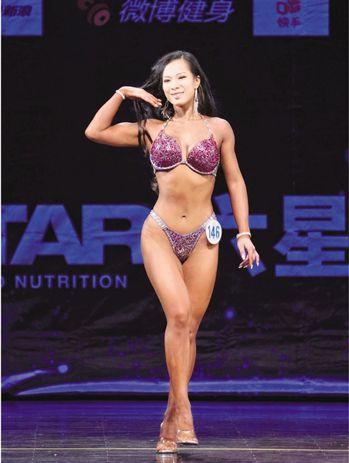 3個月瘦了40斤 165斤胖妞練成比基尼女王 蘇妍鳳
