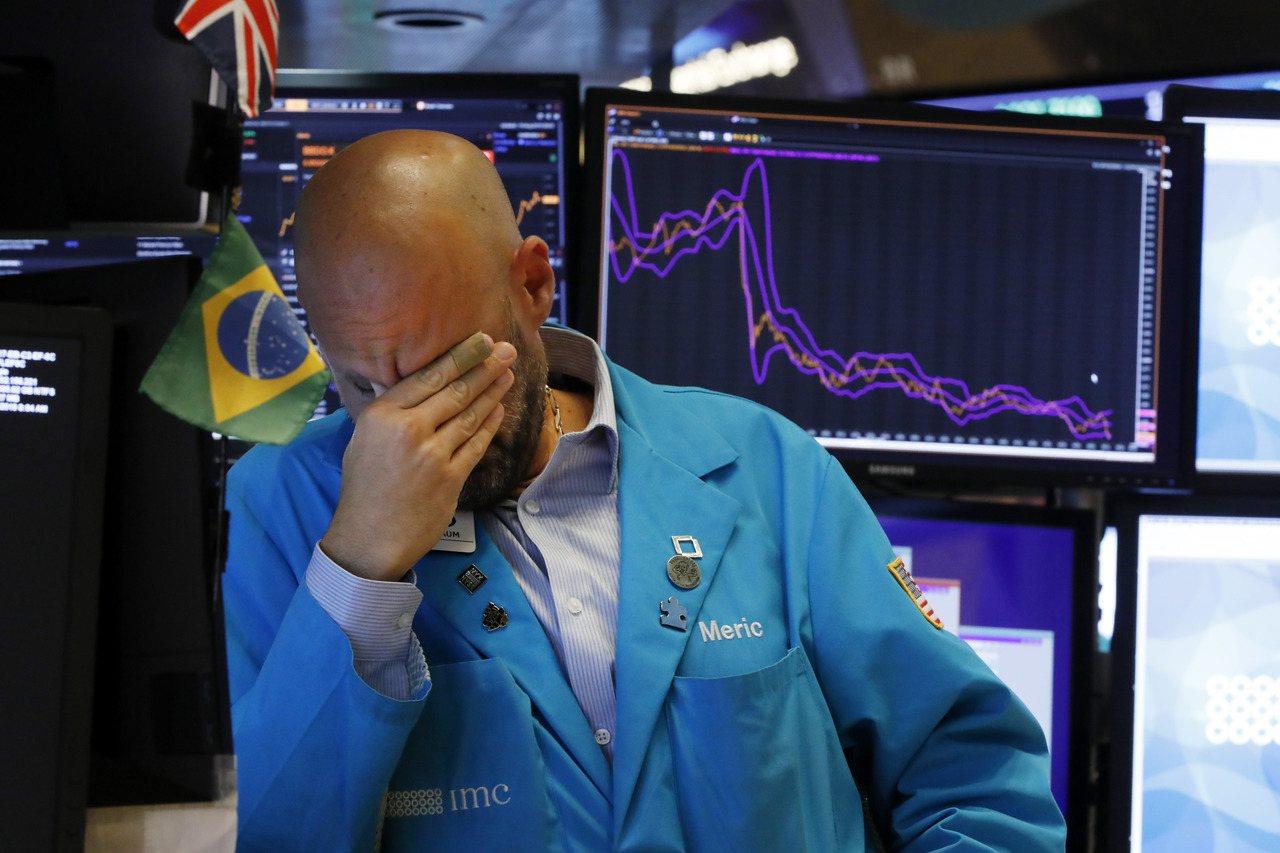 美中貿易戰延燒不止,美股拉警報。(美聯社)
