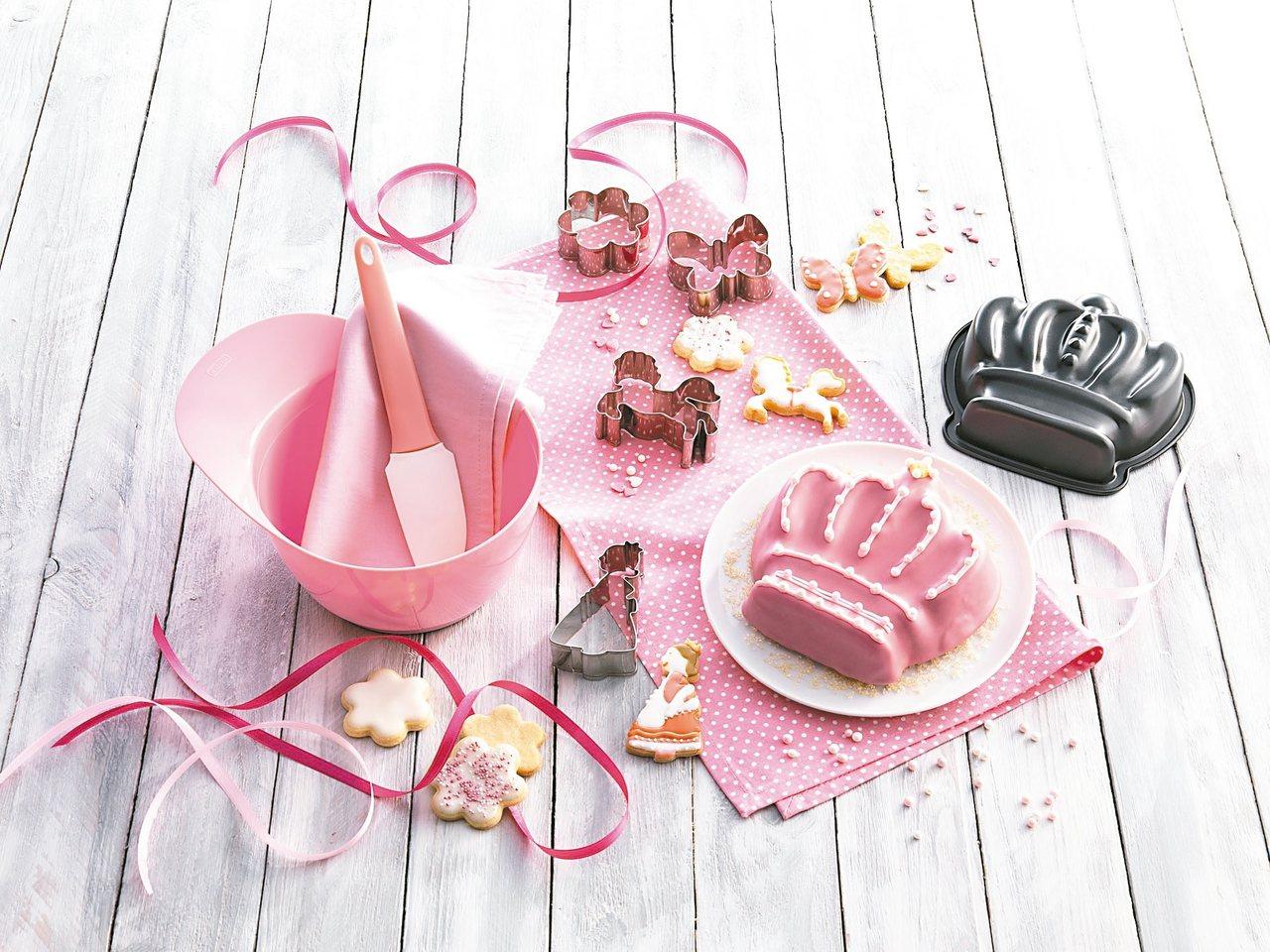 兒童專用烘焙組,可做小朋友喜愛的造型餐點。 圖/WMF提供