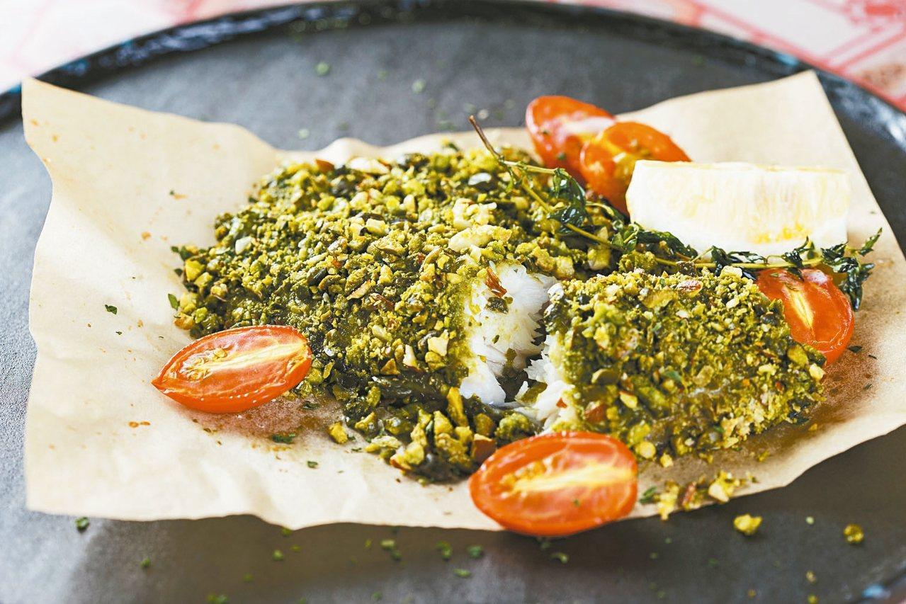 主廚每日時令鮮魚。 圖/福里安花神餐廳提供