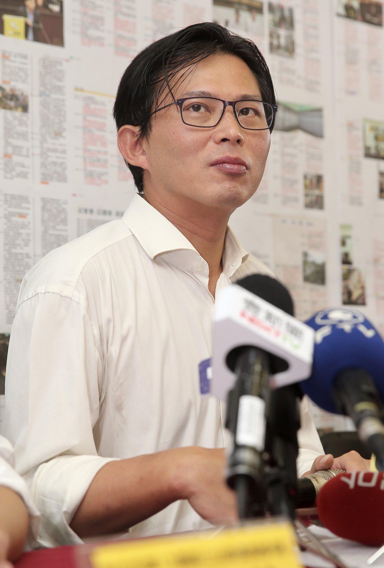時代力量立委黃國昌。本報系資料照片
