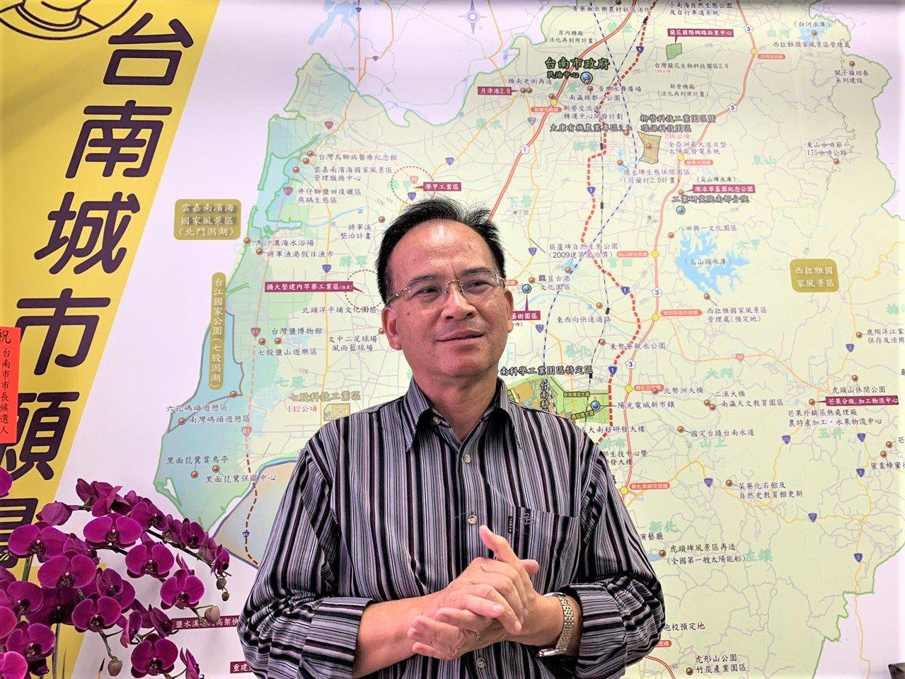 前台南縣長蘇煥智說組黨是心繫台灣改革還沒有成功。圖/本報資料照片
