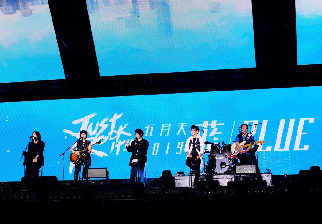 五月天此次6度登上北京鳥巢,累計14場,成華人之光。圖/相信音樂提供