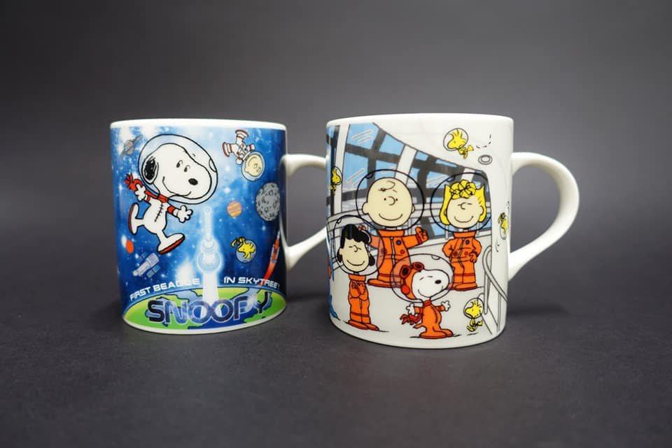 商店內也有許多史努比太空人的週邊商品。圖/擷取自東京スカイツリー / Tokyo...