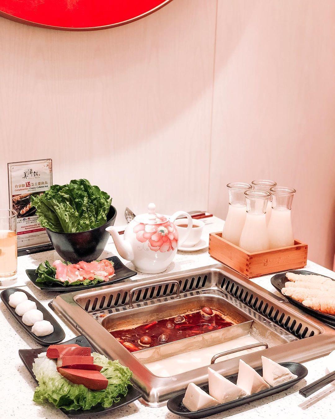 新加坡樂天餐飲集團主打養顏美容健康概念火鍋的「美滋鍋」,來台首店落腳於ATT 4...