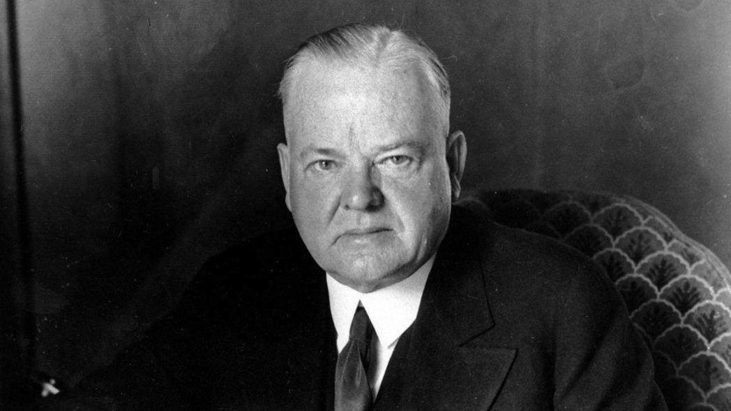 美國前總統胡佛在1930年發動的貿易戰,規模大於川普的美中貿易戰。  美聯社