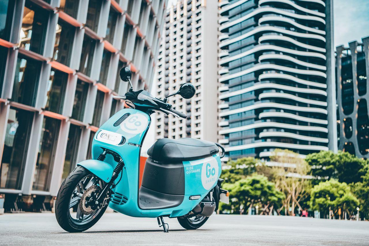 Gogoro 宣布要以共享電動機車服務「GoShare」搶市場。圖/GoShar...