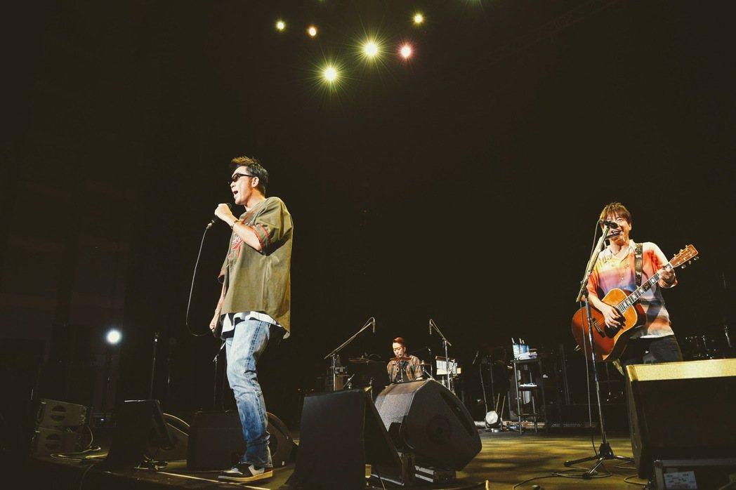 可苦可樂今晚在台北開唱。圖/大鴻藝術提供