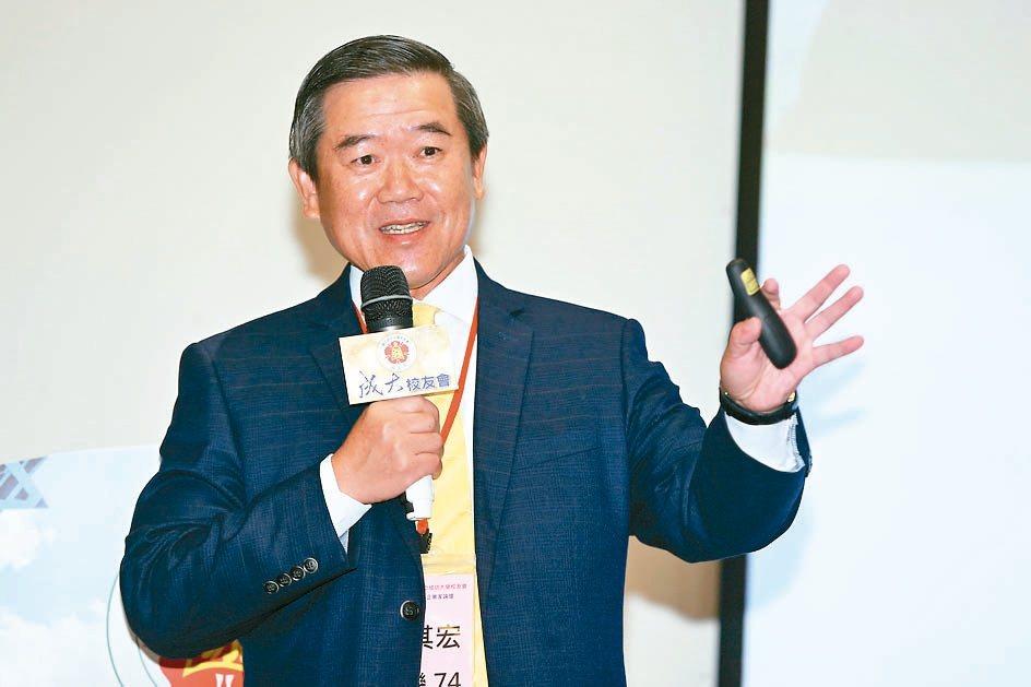 佳世達董事長陳其宏。圖/聯合報系資料照片