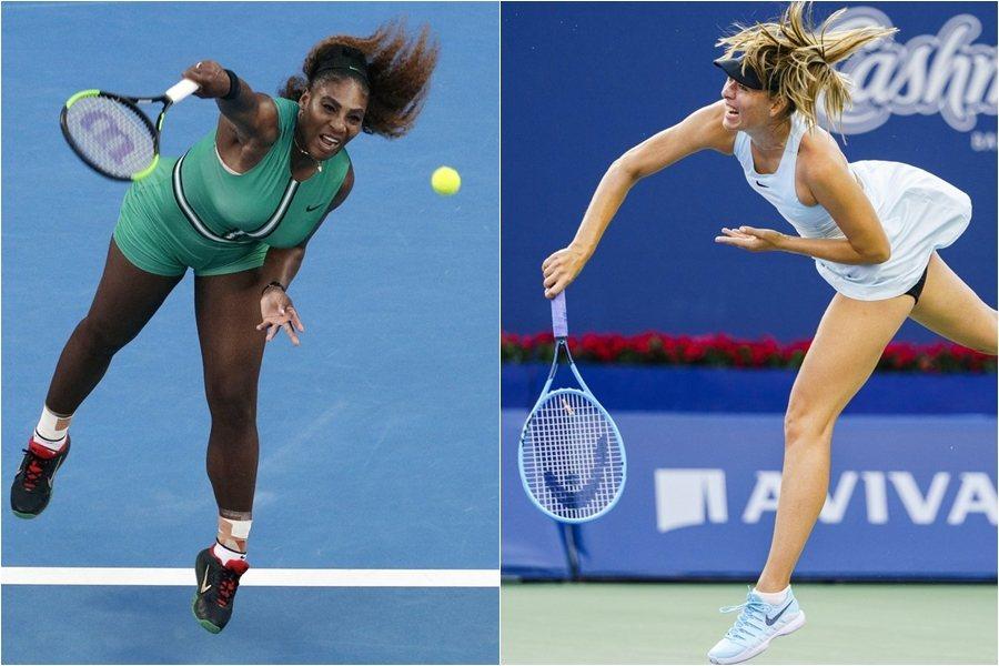 女單首輪最有話題的美國名將小威廉絲和俄羅斯「漂亮寶貝」莎拉波娃的「前球后對決」。...