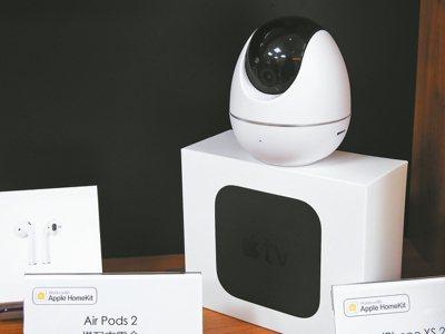 擁有Apple Homekit標籤的智慧監視器。