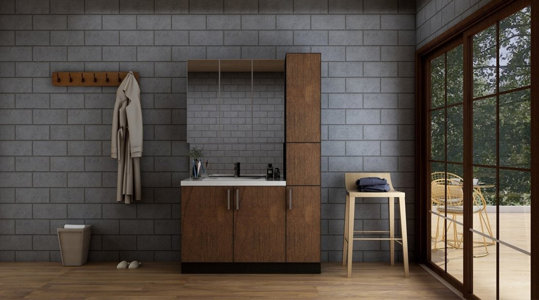 伊莫諾全鋁製、無甲醛系統衛浴。 伊莫諾/提供