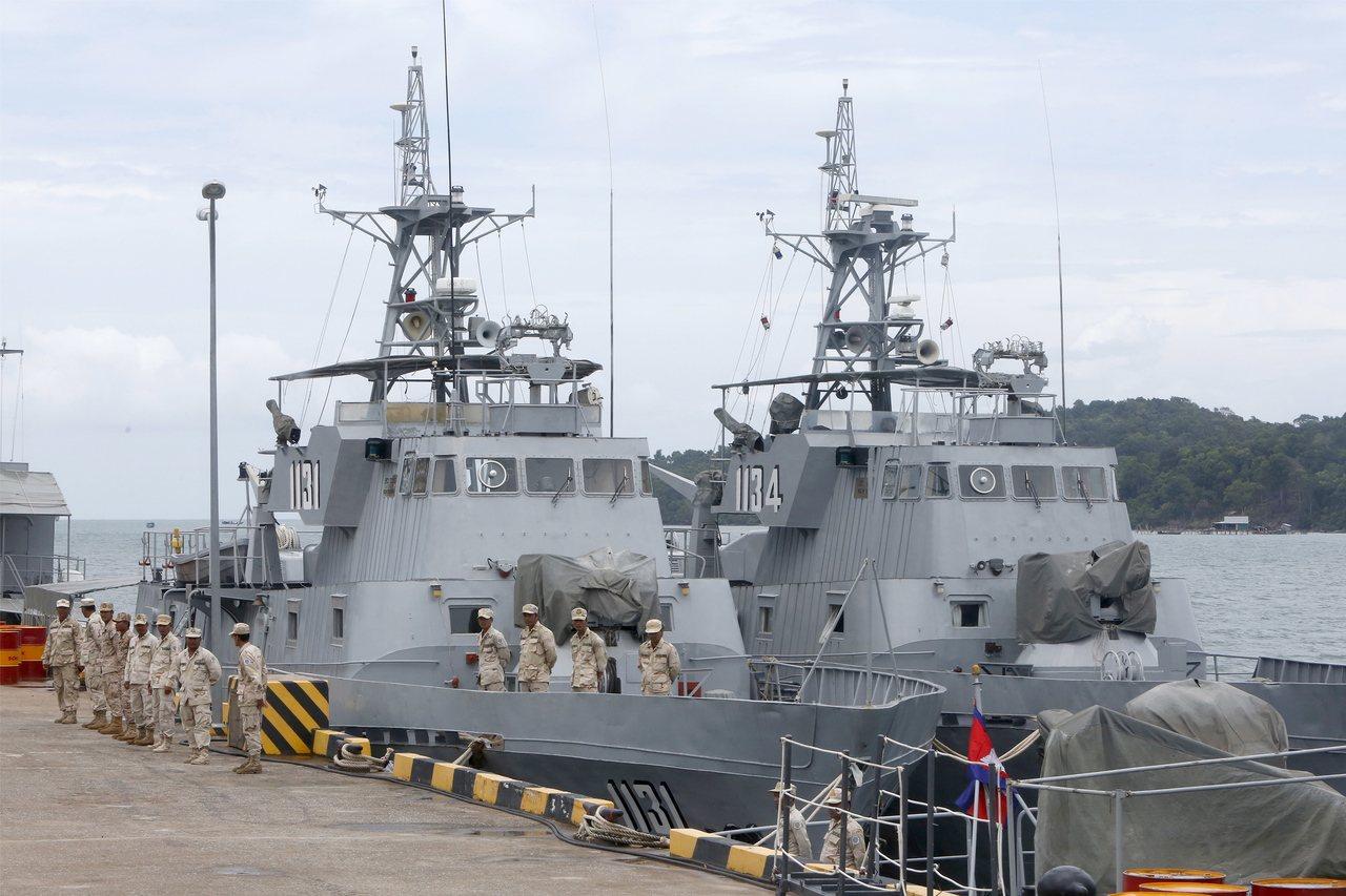 美軍證實中國計劃在柬埔寨建立海軍基地。 歐新社