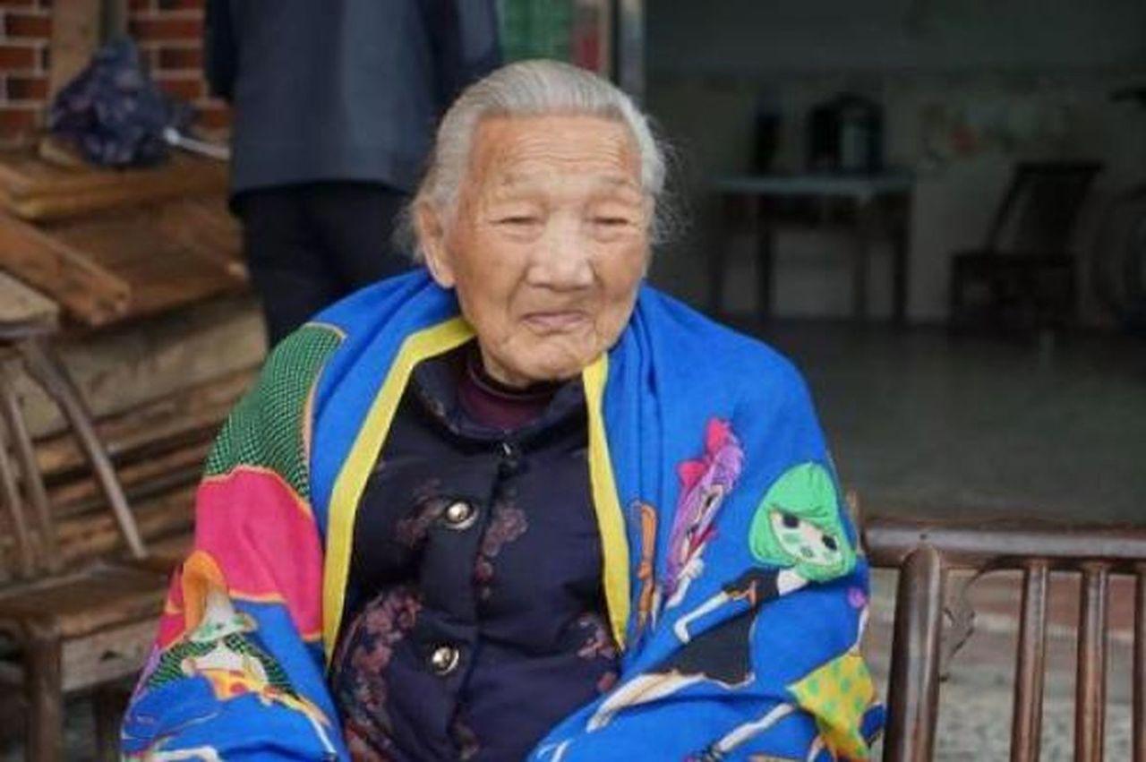 楊桂蘭去世,享壽99歲。圖擷自/微信