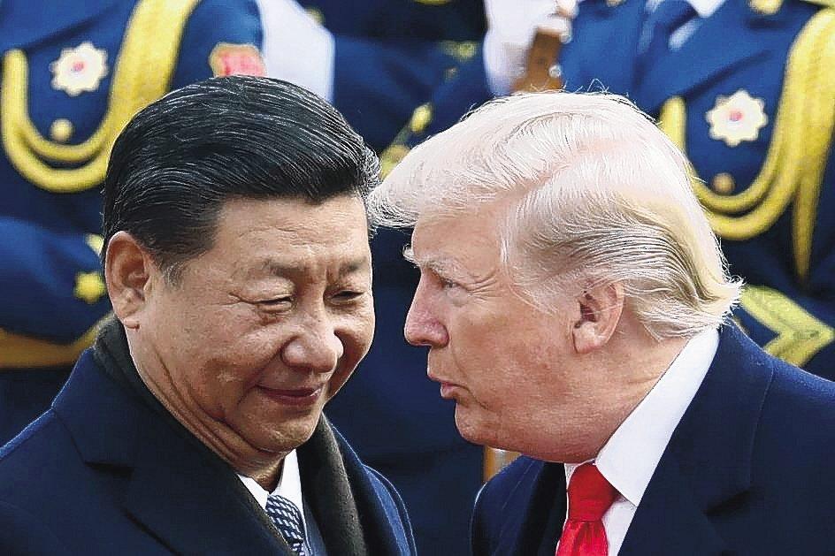 中美貿易關稅戰再度升溫。 美聯社