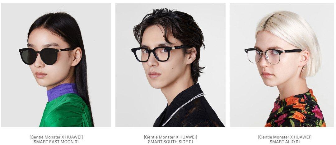 華為與韓國太陽眼鏡廠牌GENTLE MONSTER正式公告,雙方合作的智慧眼鏡E...