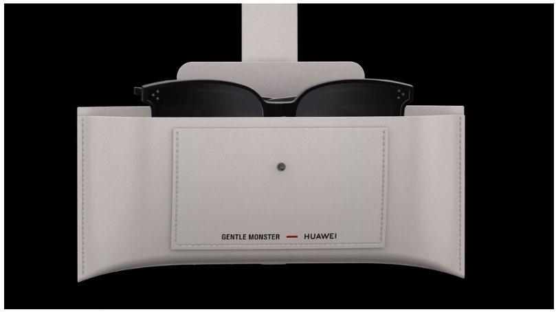 華為與韓國太陽眼鏡廠牌GENTLE MONSTER合作智慧眼鏡Eyewear,皮...