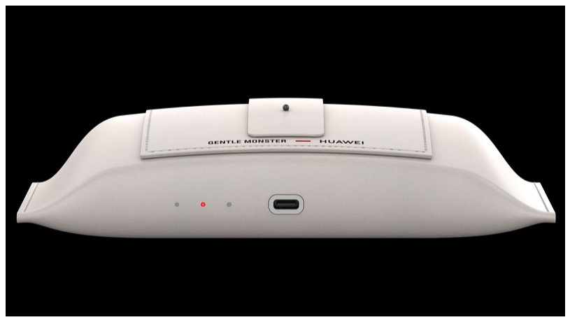 皮質眼鏡盒採用全新非接觸式無線充電技術,將眼鏡放入盒中,即可開始充電。 圖/取自...