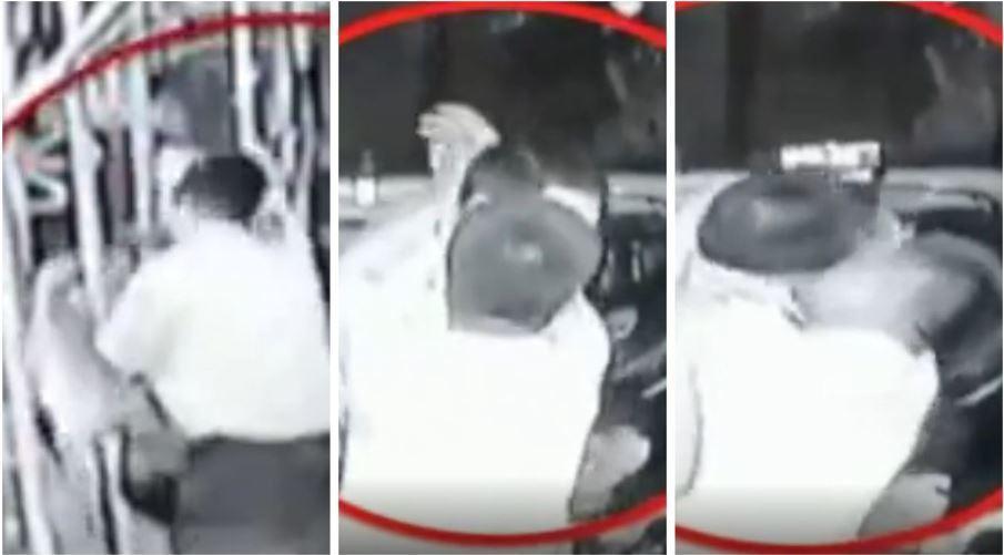 日前,深圳一名男子在醉酒後大鬧巴士,一上車就試圖強行抱住一名女乘客,被她躲開後更...