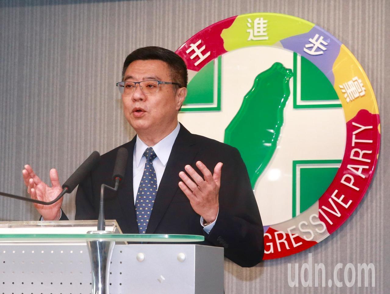 民進黨黨主席卓榮泰。圖/聯合報系資料照片