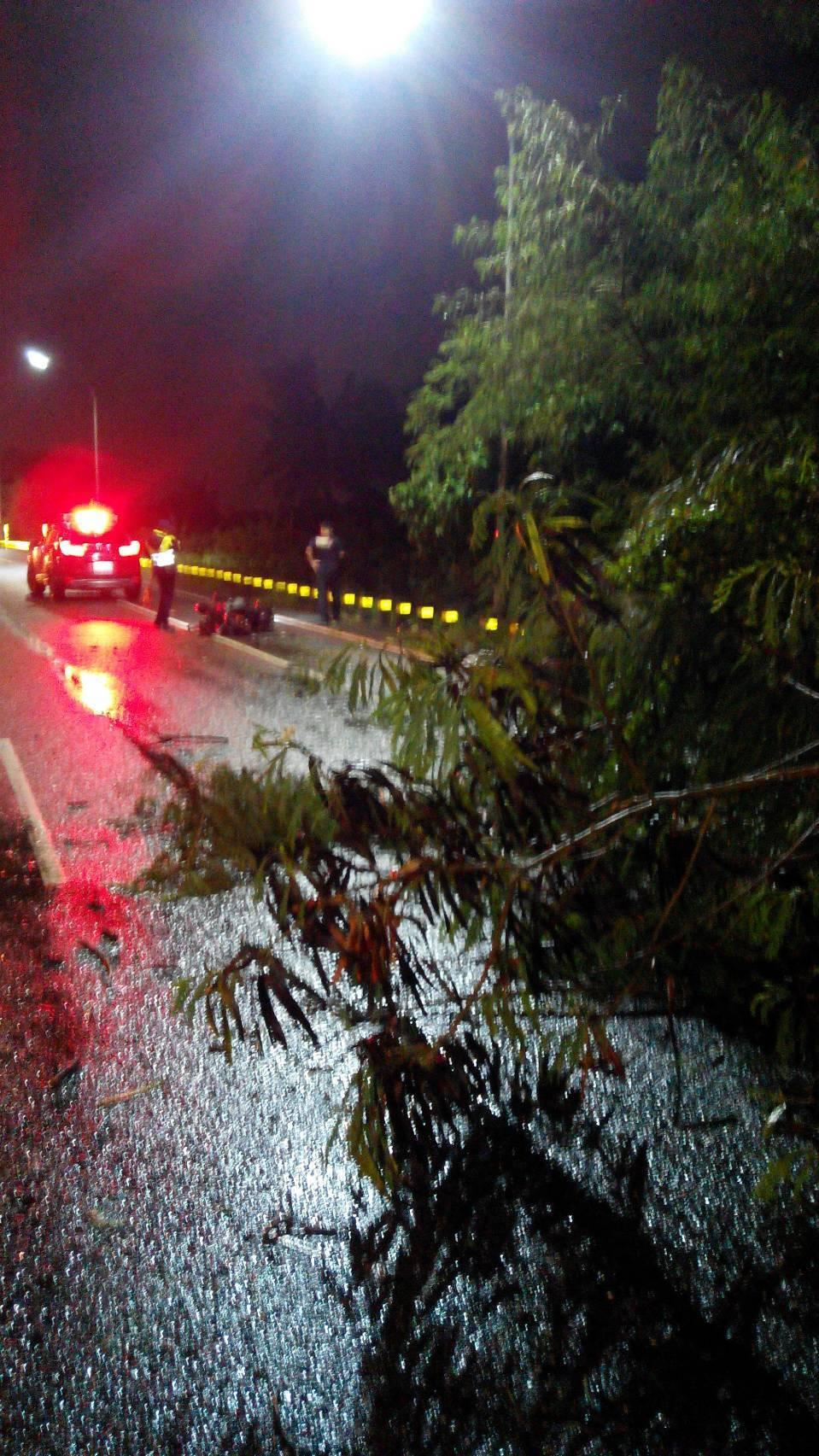 台南市警三分局指出,車禍原因仍待釐清。記者邵心杰/翻攝
