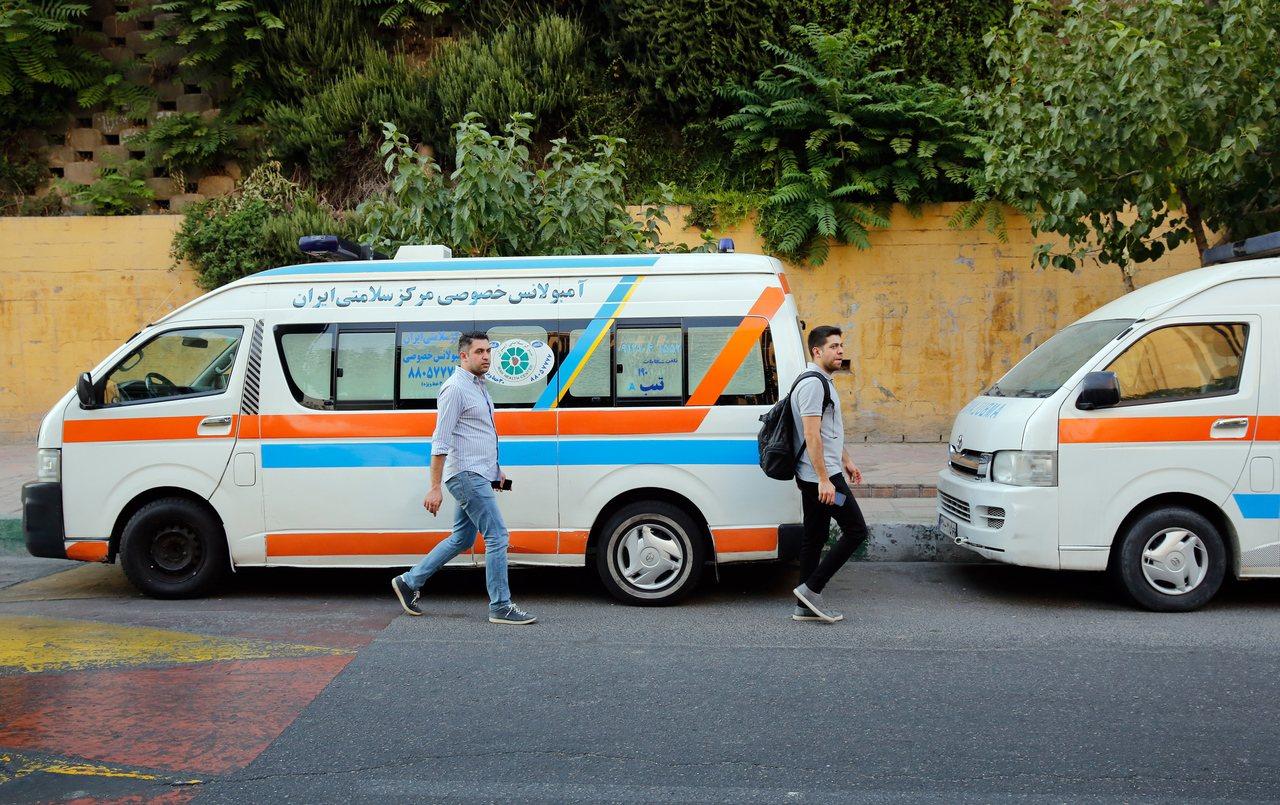 伊朗救護車被作為私人用途已成常態。歐新社