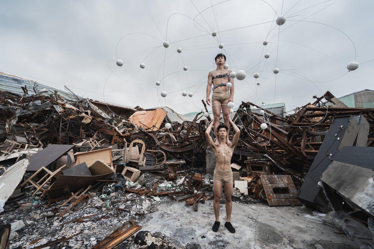 FOCA福爾摩沙馬戲團的《消逝之島》。圖/台北藝術節提供