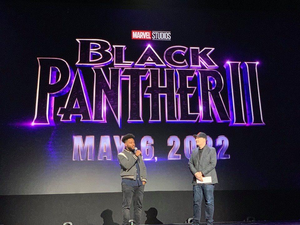 「黑豹2」導演萊恩庫格勒出席D23博覽會,證實續集將於2022年上映。圖/摘自漫...